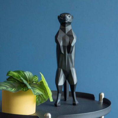 presenttime-statueorigamimeerkatpolyresin-beeldje-black-statue-PT3397BK-sfeer-600